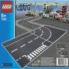 LEGO CITY T formos sankryža ir kelio vingis 5 -12 metų vaikams (7281)