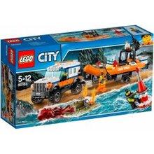 LEGO City 4 x 4 Greito reagavimo būrys 60165