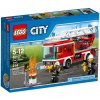 LEGO City Fire Ugniagesių automobilis su kopėčiomis, 5-12 m. vaikams (60107)