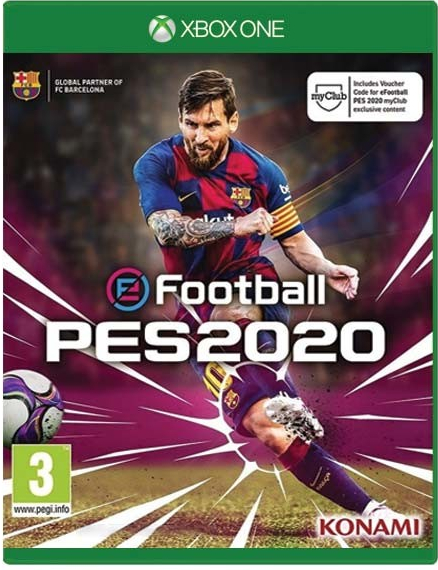 2020 Xbox One Games.Pro Evolution Soccer 2020 Xbox One Kaina