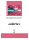 Tiesinė algebra ir matematinė analizė